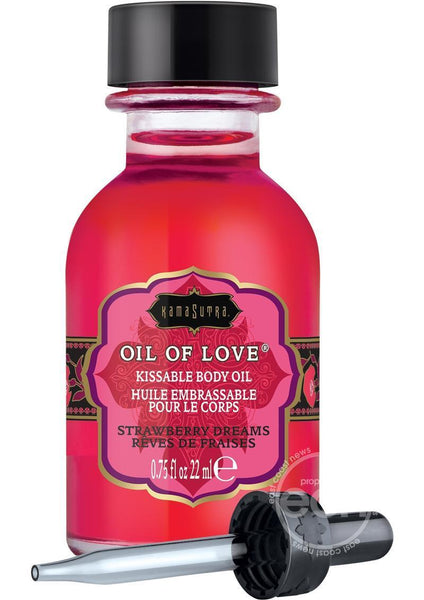Kama Sutra  Oil Of Love Strawberry Dreams .75 Oz