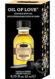 Kama Sutra  Sensual Oil of Love - Vanilla Creme - 0.75 Fl OZ/22 ml