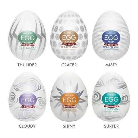 TENGA EGG VARIETY PACK HARD BOILED -6pk
