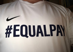 "Equal Pay Jersey - Looser Fit ""Men's"" Style"