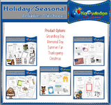 Holiday & Seasonal Activities Mini-Books