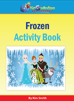 FROZEN Activity Book