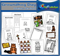 Groundhog Day Activities Mini-Books