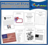 Memorial Day Activities Mini-Books