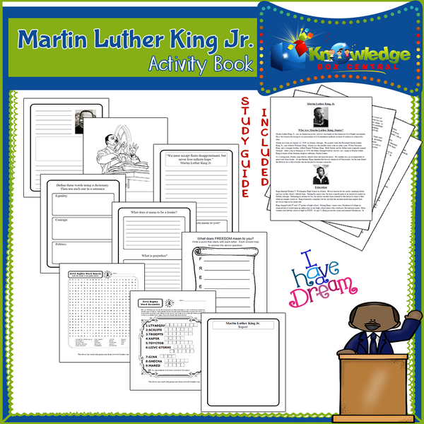 Martin Luther King Jr. Activity Book