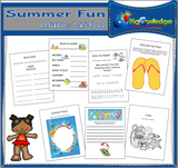 Summer Fun Activities Mini-Books