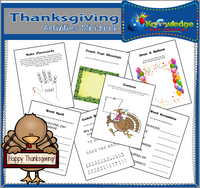 Thanksgiving Activities Mini-Books