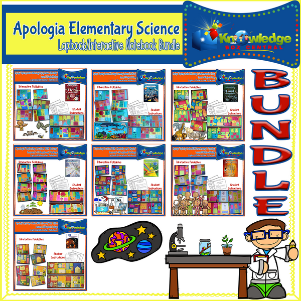 Apologia Elementary Science Lapbook BUNDLE