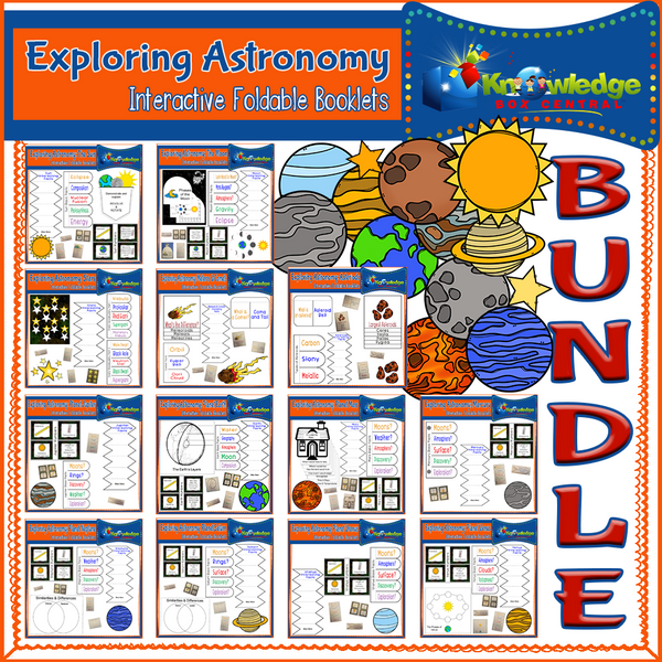 Exploring Astronomy Interactive Foldables BUNDLE
