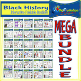 Black History Interactive Foldables Bundles