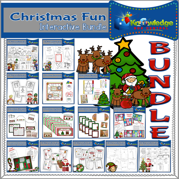 Christmas FUN Interactive BUNDLE