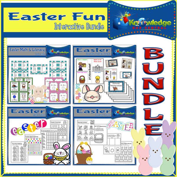 Easter FUN Interactive BUNDLE