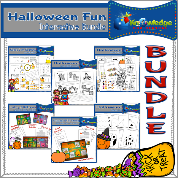 Halloween Fun Interactive BUNDLE