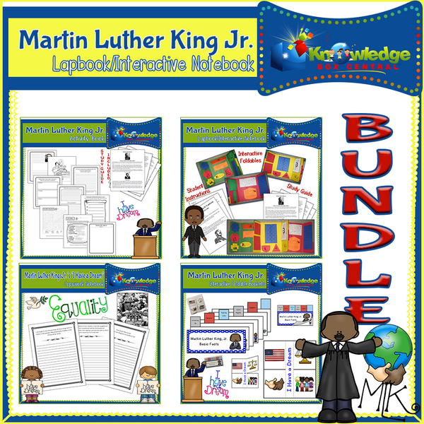 Martin Luther King Jr. Interactive BUNDLE
