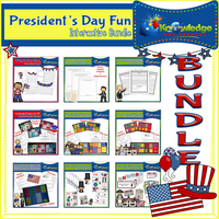 President's Day Fun Interactive BUNDLE