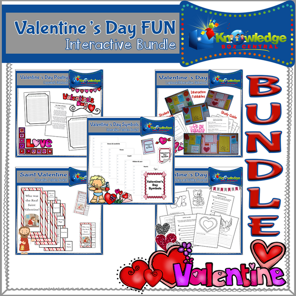 Valentine's Day FUN Interactive BUNDLE
