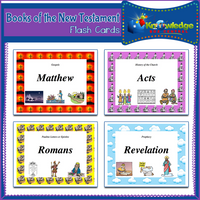 Books of the New Testament Flash Cards