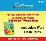 Apologia Exploring Creation with Chemistry & Physics Lapbook Package (Lessons 1-14)