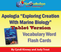 Apologia Exploring Creation with Marine Biology 2nd Edition