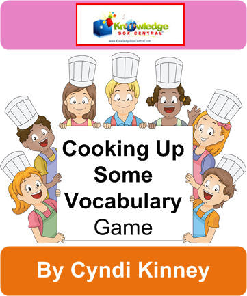 Cooking Up Some Vocabulary - Games Notebook