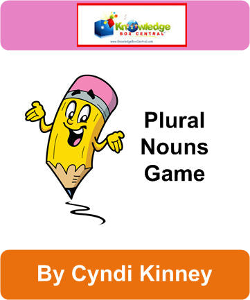 Plural Nouns Game - Games Notebook