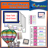 All About Gases Interactive Foldable Booklets