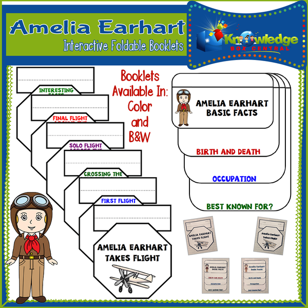 Amelia Earhart Products