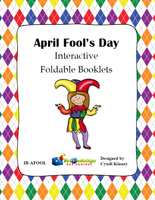 April Fool's Day Interactive Foldable Booklets
