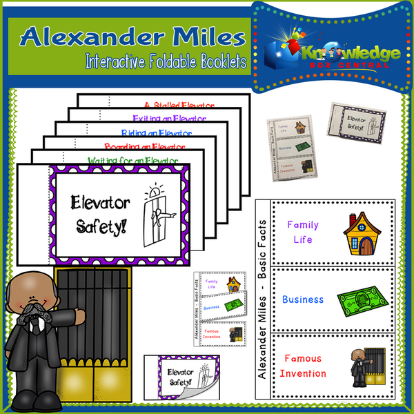 Alexander Miles Interactive Foldable Booklets