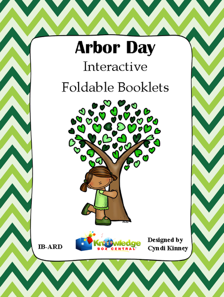 Arbor Day Interactive Foldable Booklets