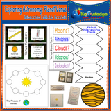 Exploring Astronomy Interactive Foldable Booklets
