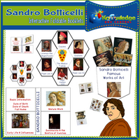 Sandro Botticelli Interactive Foldable Booklets