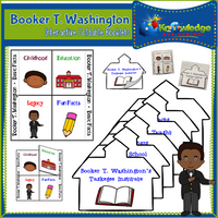 Booker T. Washington Interactive Foldable Booklets