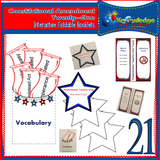 Constitutional Bill of Rights: Interactive Foldable Booklets Amendments 1-27