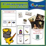 Caravaggio Interactive Foldable Booklets