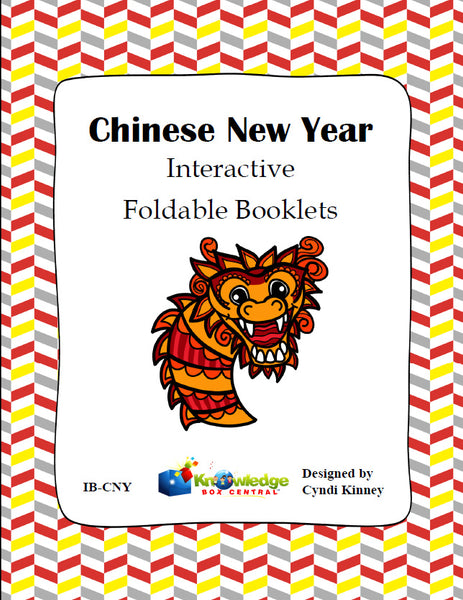Chinese New Year Interactive Foldable Booklets