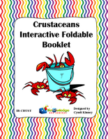 Crustaceans Interactive Foldable Booklets