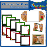 Christmas Traditions Interactive Foldable Booklets