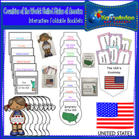 Countries of the World Interactive Foldable Booklets