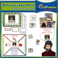 Donatello Interactive Foldable Booklets