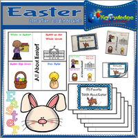 Easter Interactive Foldable Booklets