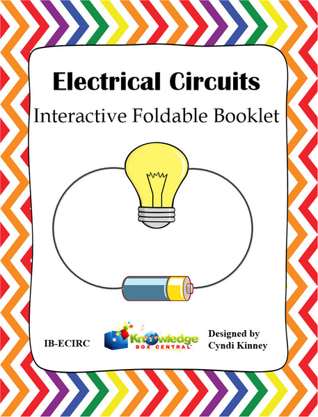 Electrical Circuits Interactive Foldable Booklets