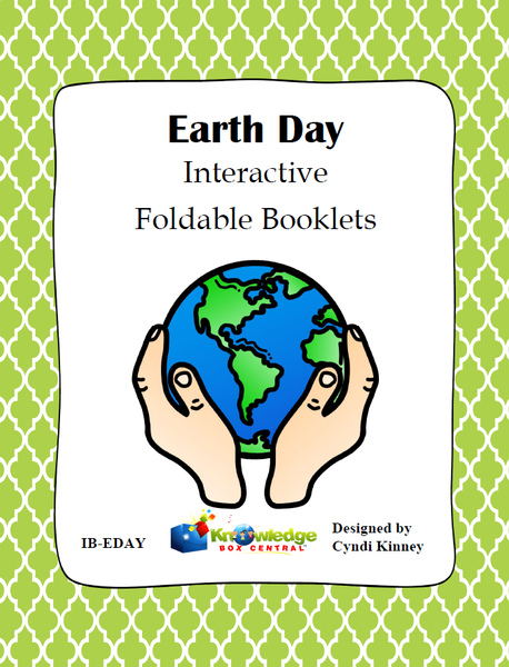 Earth Day Interactive Foldable Booklets
