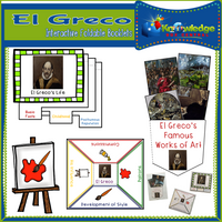 El Greco Interactive Foldable Booklets