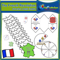 French Revolution Interactive Foldable Booklets