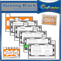Giving Back Interactive Interactive Foldable Booklets
