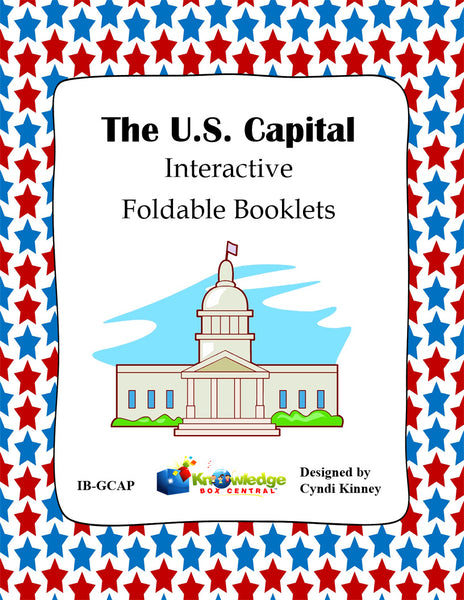 The U.S. Capital Interactive Foldable Booklets