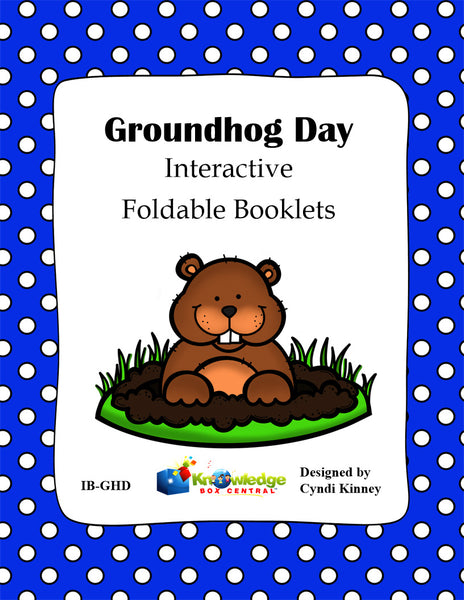 Groundhog Day Interactive Foldable Booklets