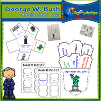 George W. Bush Interactive Foldable Booklets