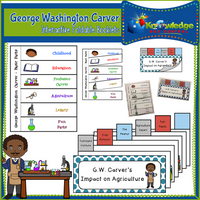 George Washington Carver Interactive Foldable Booklets